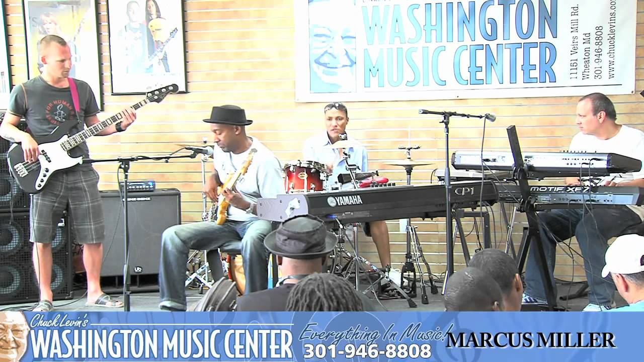 Marcus Miller Master Class at Washington Music Center