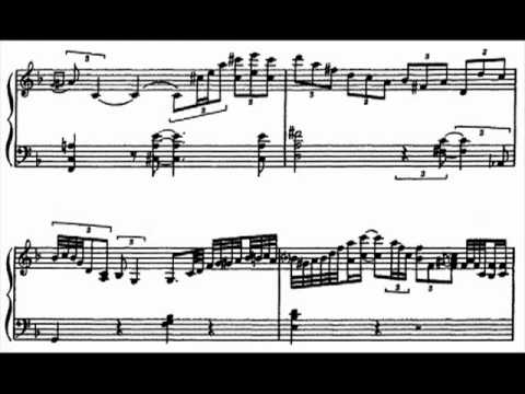 Oscar Peterson, Sandy's Blues full transcription, C and F key