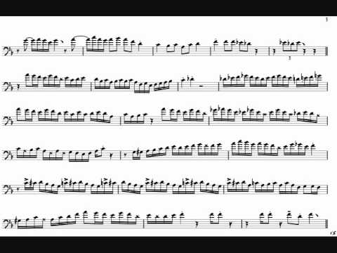 Conrad Herwig, I MeanYou Trombone Solo Transcription F key