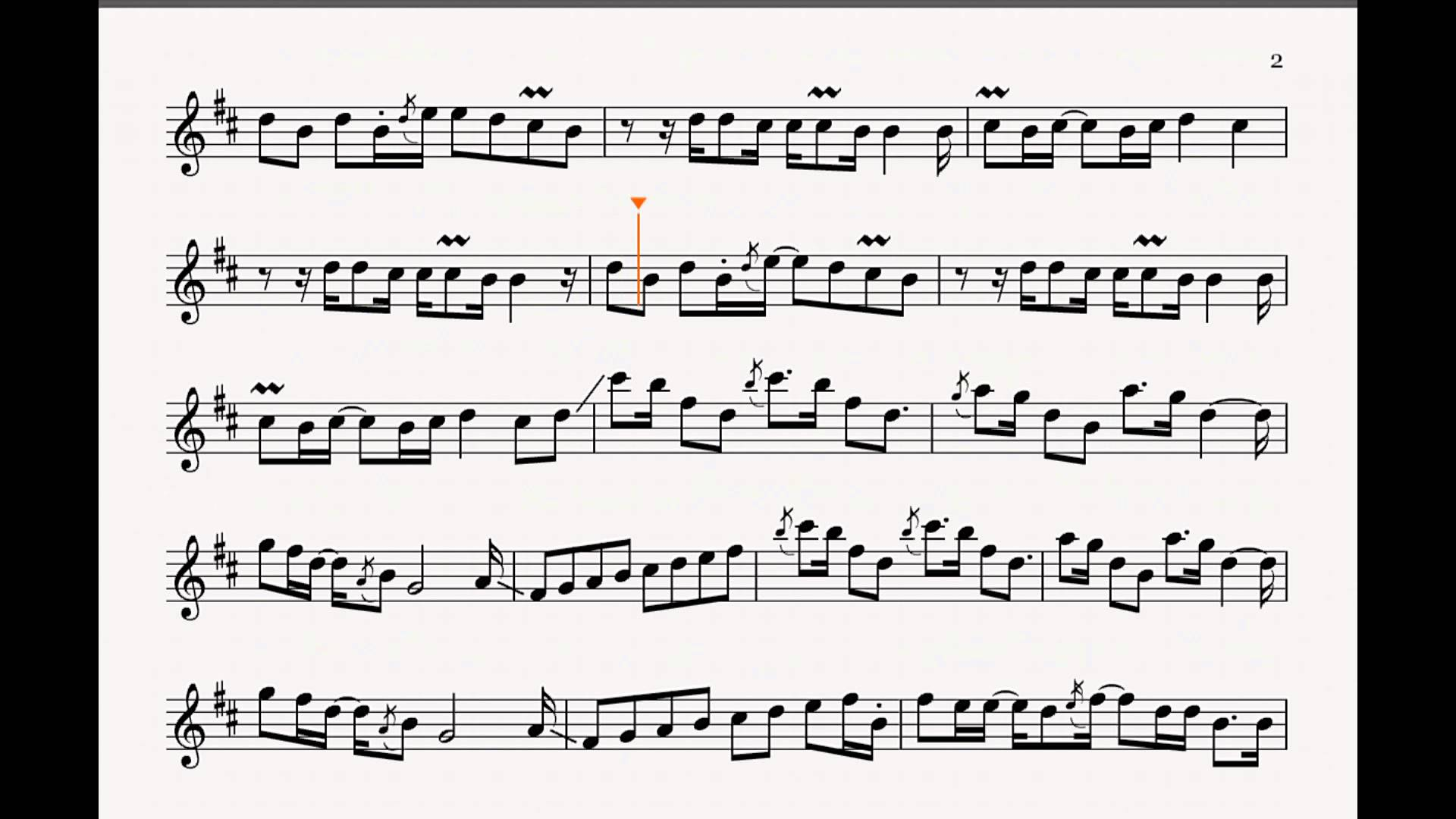 Bob Reynolds – theme transcription Only – Bb