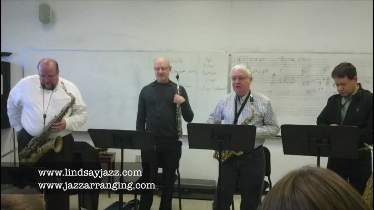 Gary Lindsay, Master class about Jazz Arranging