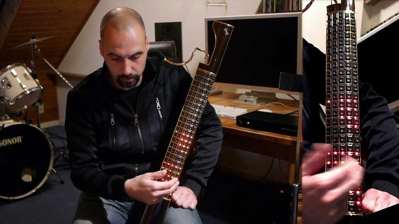 Eigenharp, french demonstration