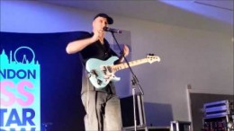 Masterclass de Billy Sheehan @ Bass Guitar Show  2015 à Londres