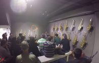Ernie Watts, clinic at Mariachi Sax Boutique, Moscow, Russia