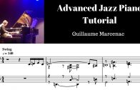 Advanced jazz piano tutorial 1 Basic Fingerings by Guillaume Marcenac